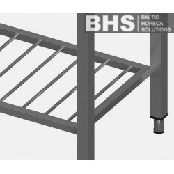 Stainless steel additional shelf
