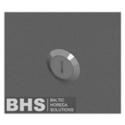 Lock for modular shelf with shutting doors