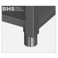 Adjustable heavy duty stainless steel feet