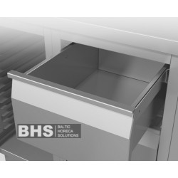 Module with 3 plain drawers 440