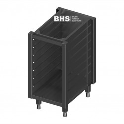 Module with guide rails for 7 GN1/1 containers