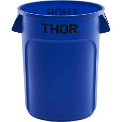 Waste container 120 l blue