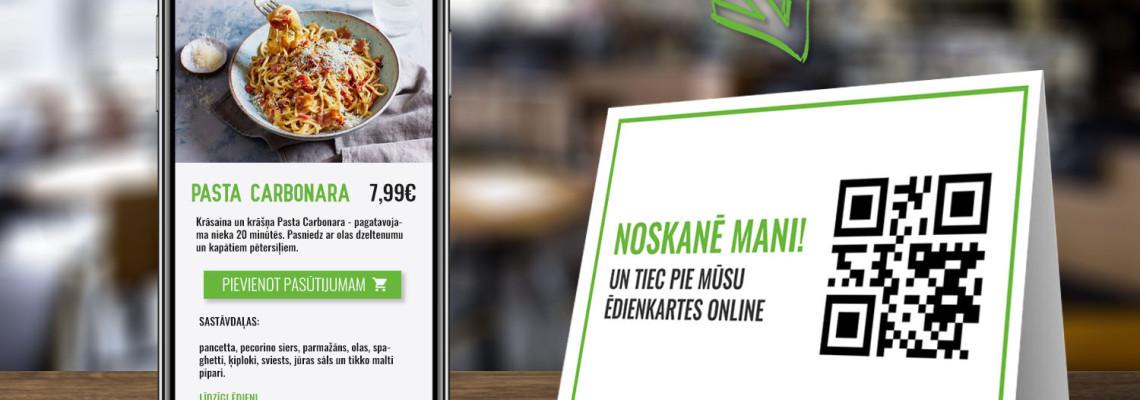 Restaurant QR Code menus